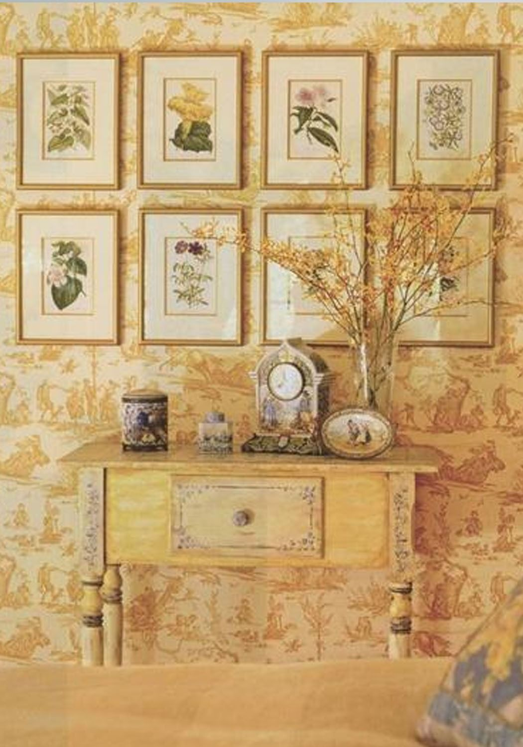 25 ways to use wallpaper to transform a room from Pinterest. | Home ...