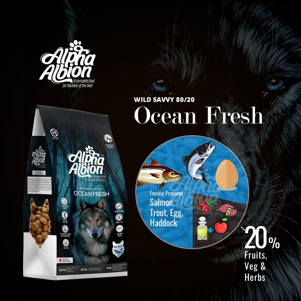 Ocean Fresh For Hypoallergenic Grain Free Dog Food Range Has 80 Of Varied Human Grade Fish That Dogs Would Ob With Images Buy Dog Food Online Dog Training Near Me