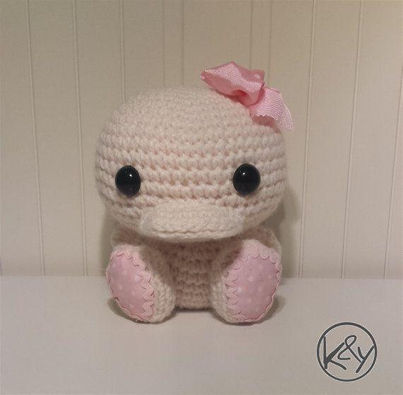 Potty, el bebé patito - Patrón crochet amigurumi   ha   Pinterest ...