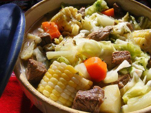Caldo de Res- Mexican beef soup