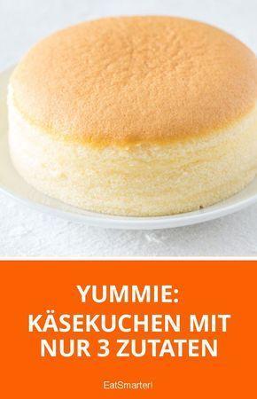 japanischer k sekuchen mit nur 3 zutaten rezepte desserts muffins und kuchen. Black Bedroom Furniture Sets. Home Design Ideas