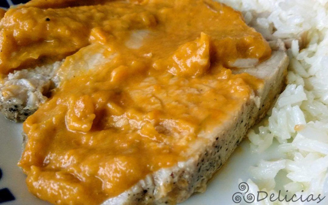 Lomo En Salsa De Naranja Y Zanahoria Mambo Entre Delicias Lomo En Salsa Mambo Recetas De Lomo