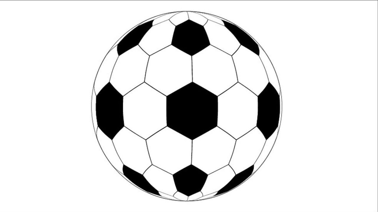 How To Draw A Soccer Ball In Adobe Illustrator Soccer Ball Soccer Illustration
