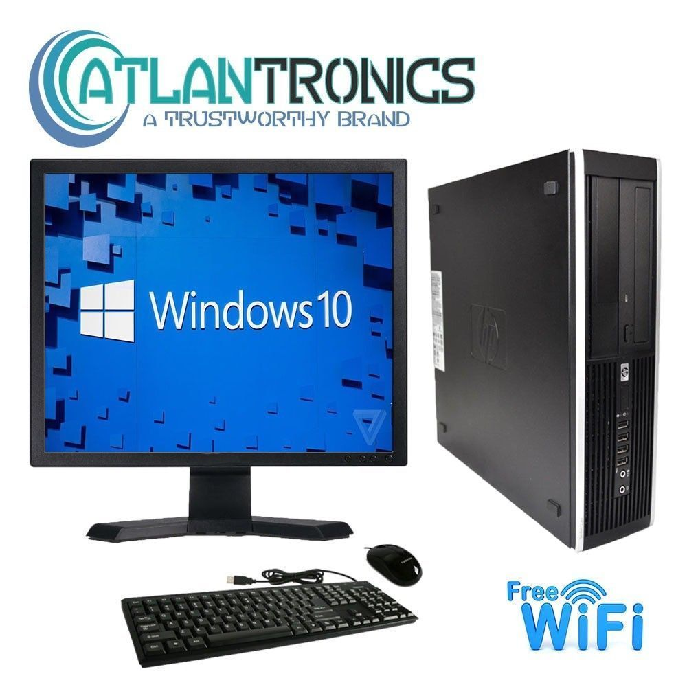 CLEARANCE!!! Fast HP Desktop Computer PC Core 2 Duo ...