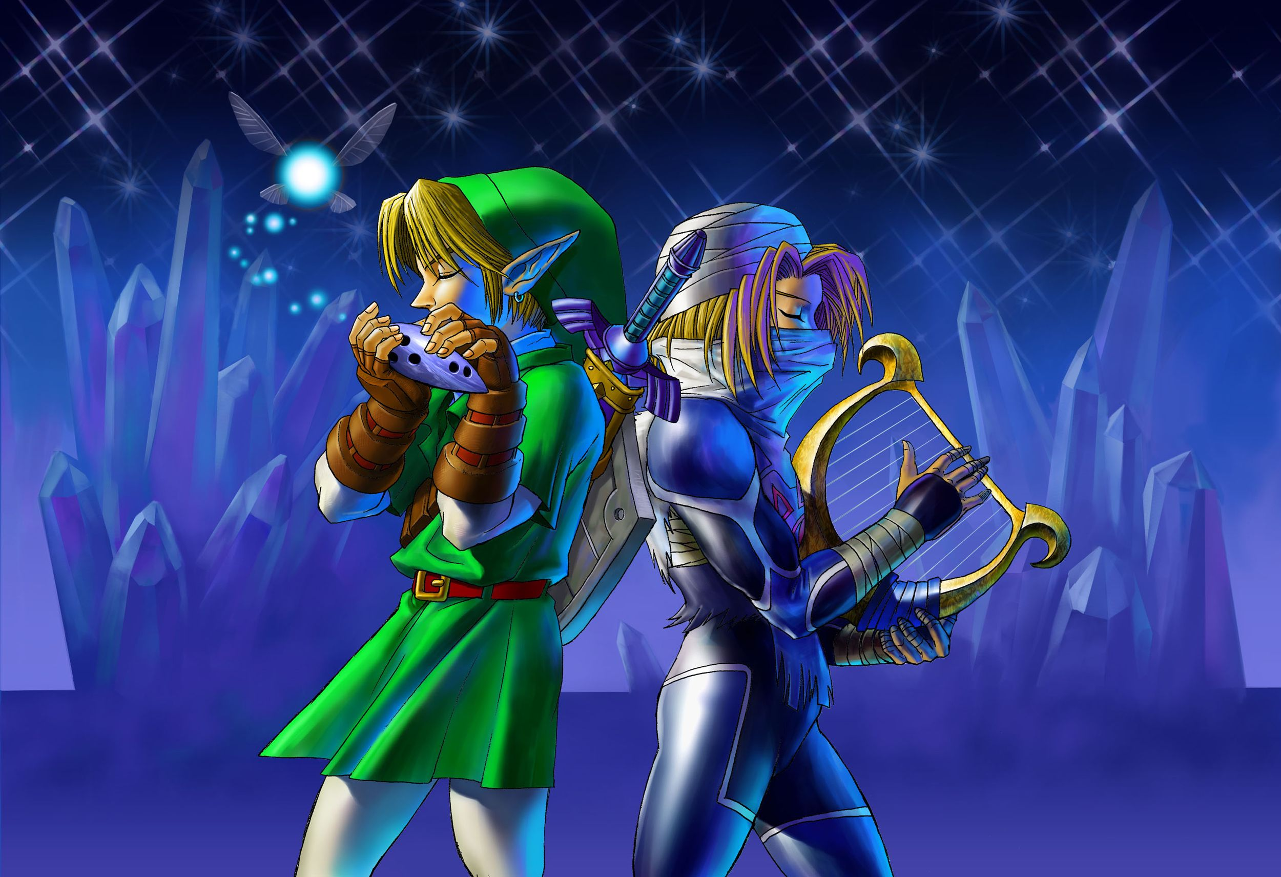 Legend Of Zelda Ocarina Of Time Wallpapers High Definition For