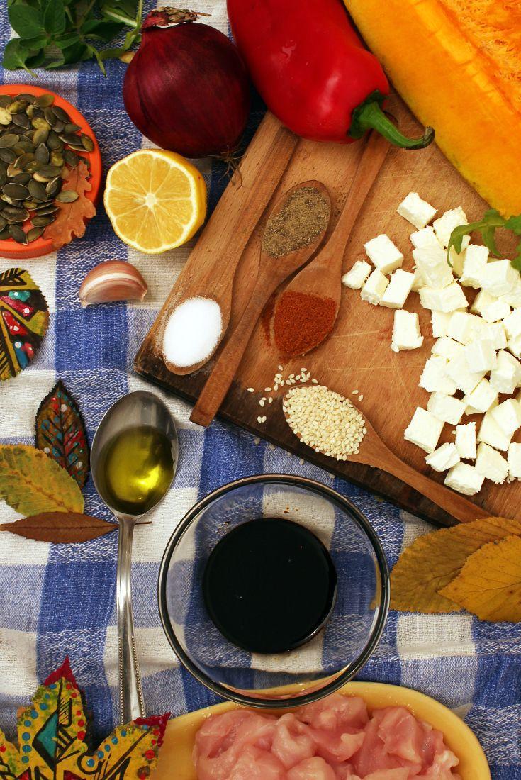 Pin by EURO BODY on Healthy Food & Recipes Pumpkin salad