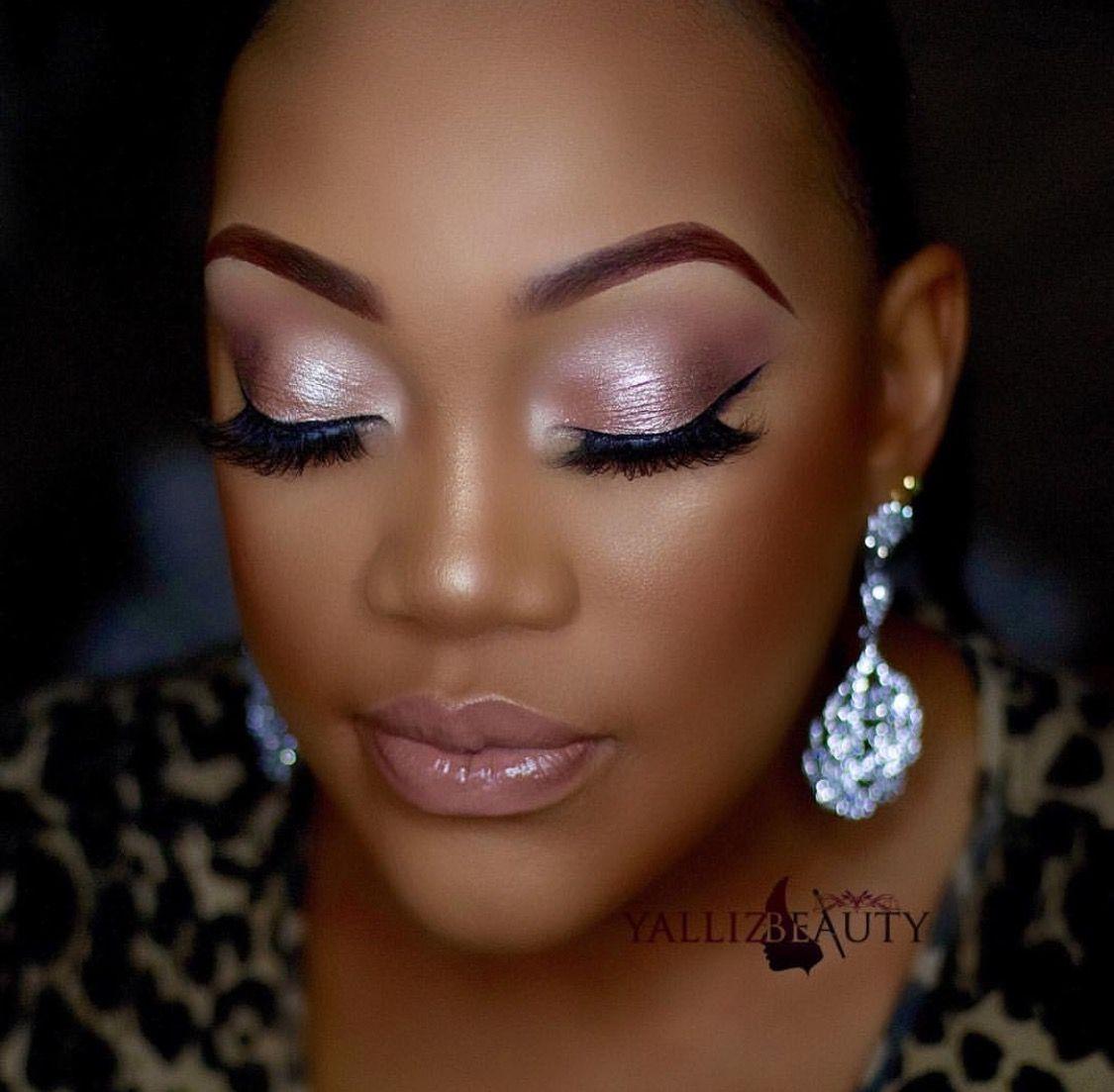Makeup for black women Makeup for black women, Soft glam