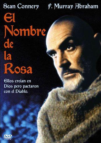 Resultado de imagen de FILM EL NOMBRE DE LA ROSA PINTEREST