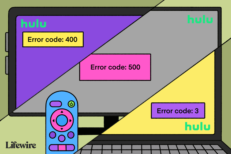 How to Fix Hulu Error Code 3, Hulu 500 Error, and More in