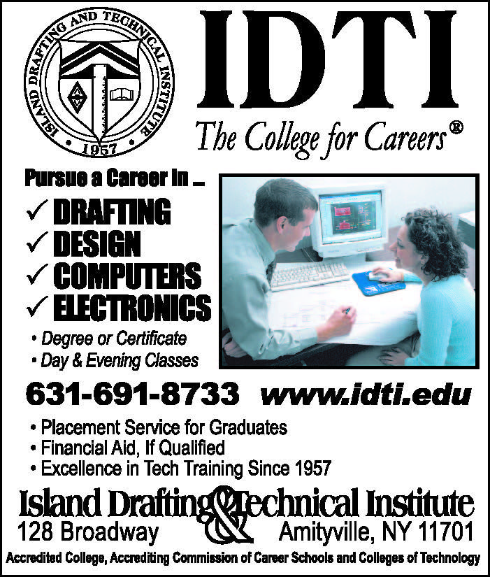 Island Drafting Technical Institute Financial Aid Technical