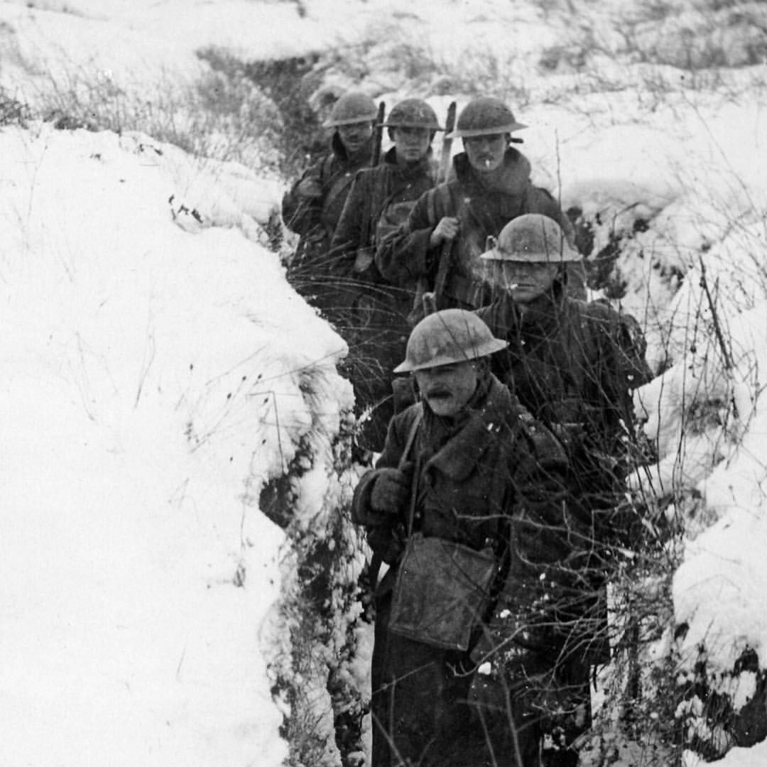 Image result for ww1 trenches in winter