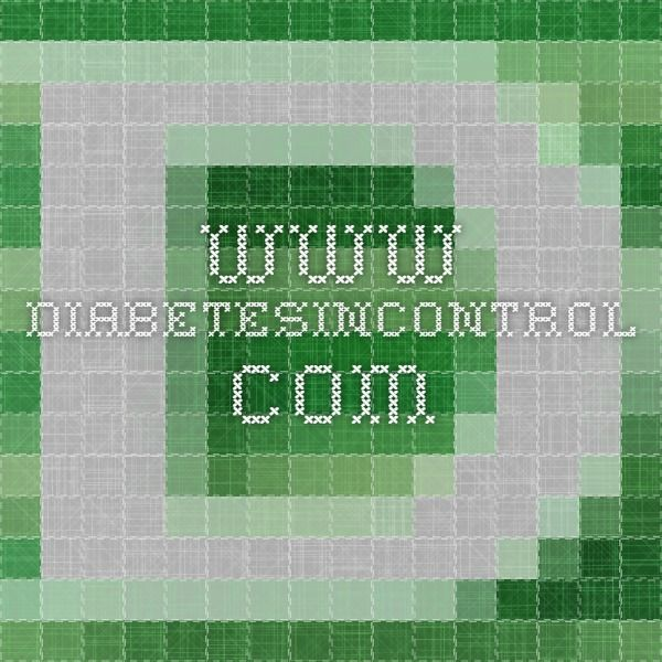 www.diabetesincontrol.com