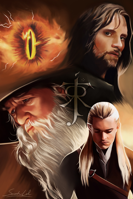 Artstation Lord Of The Rings Fan Art Sarah Lal Hobbit Art Lord Of The Rings Tolkien Art