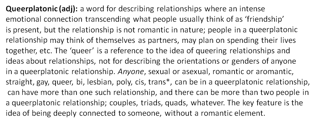 Queerplatonic relationship