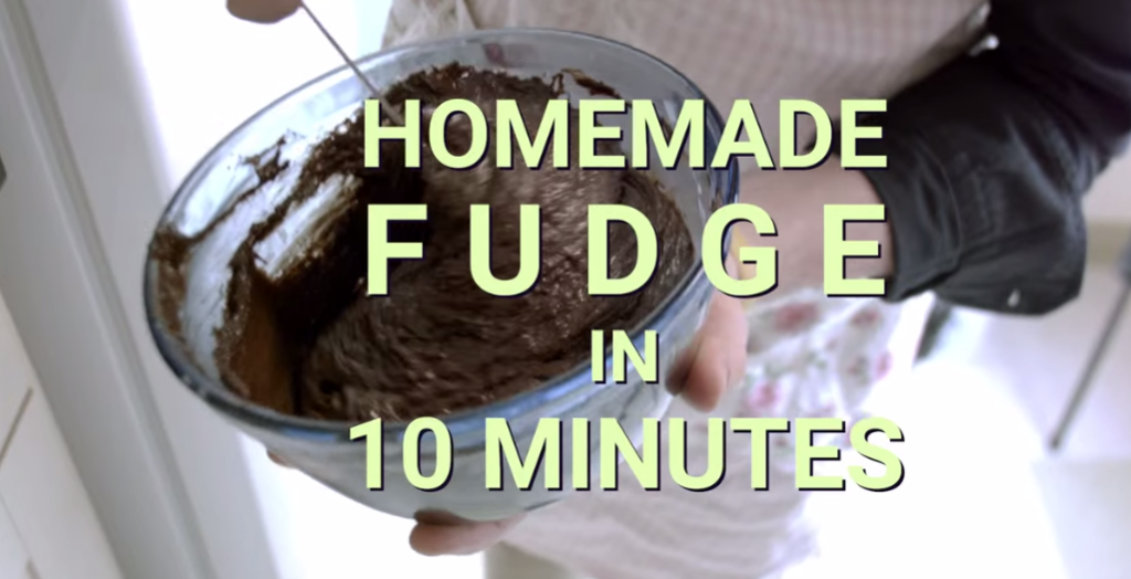 You Can Have Fudge Year Round With This 10 Minute Recipe