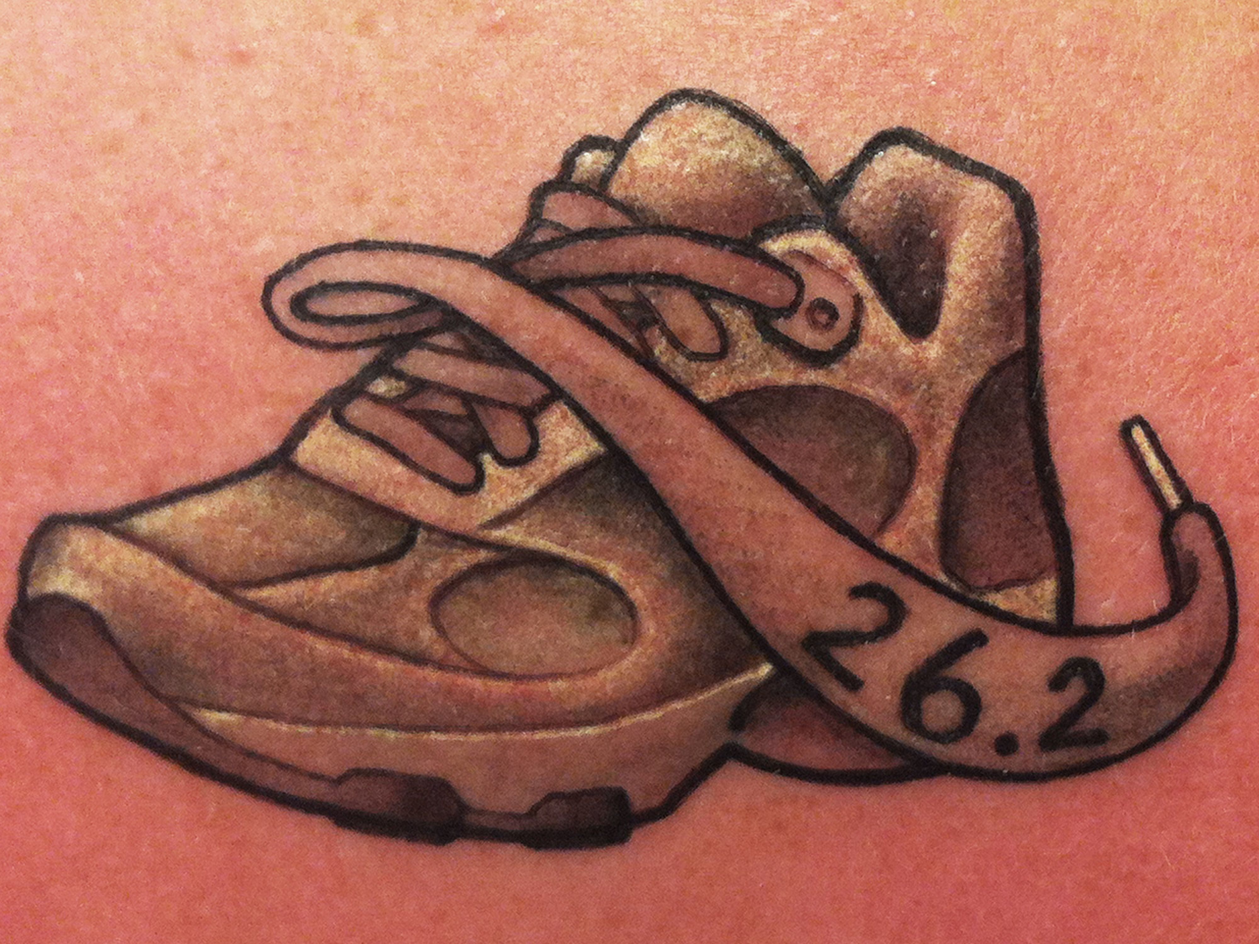 running shoe tattoo google search tats pinterest shoe rh pinterest co uk running shoe tattoos designs running shoe tattoo ideas