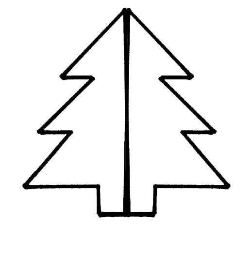 pino de plastilina y abalorios para navidad