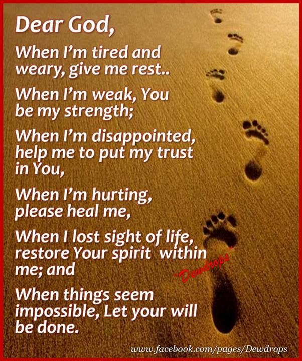 Let Your Will Be Done Uplifting Faith Quotes Quotes About God