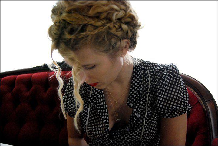 heidi doody | Curly Hair 'dos | Curly hair styles, Braided ...