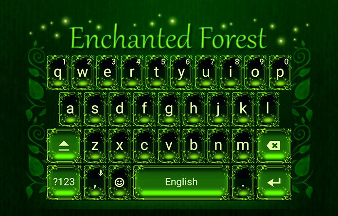 Enchanted Forest Theme Android Theme Design Wallpaper Keyboard Technology Gadgets Design Redrawke Android Theme Enchanted Forest Theme How To Find Out
