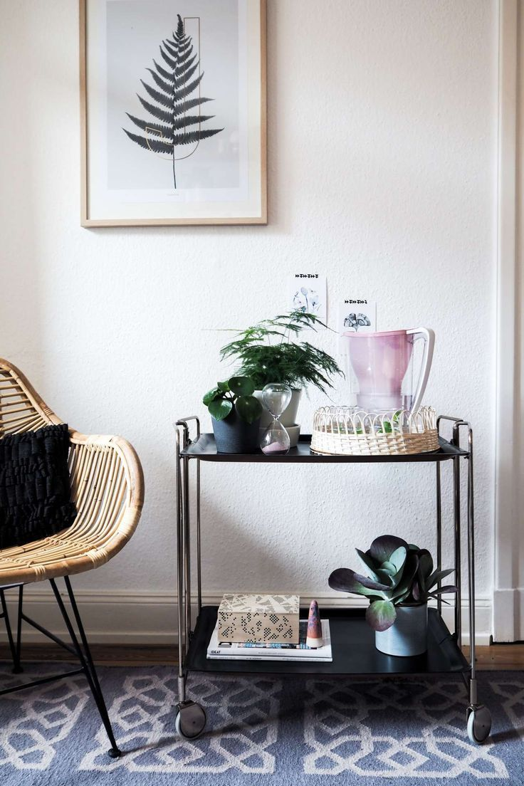 DIY: Boho-Tablett mit glamourösen Trinkgläsern   Interiors