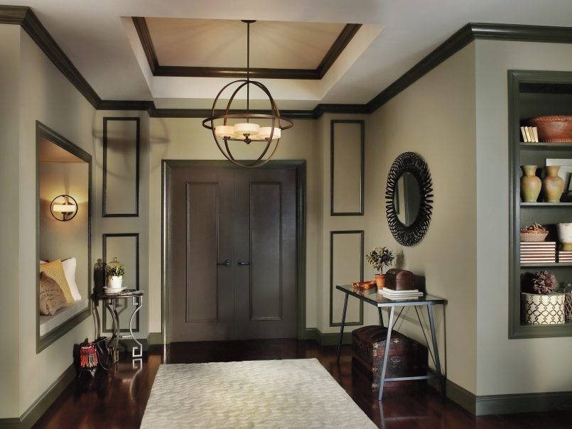 Light Kichler Olsay Foyer Contemporary Entryway Chandeliers Chandelier Lighting Inspiration Lando Galleries Entrance Way Lights Traditional Dining Cool