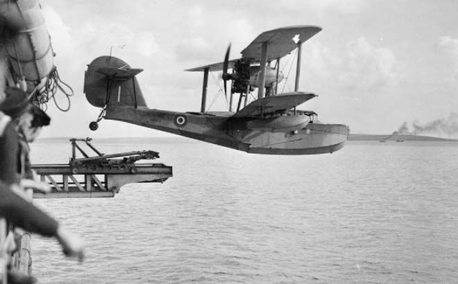 17th April, 1940  Walrus Seaplane.