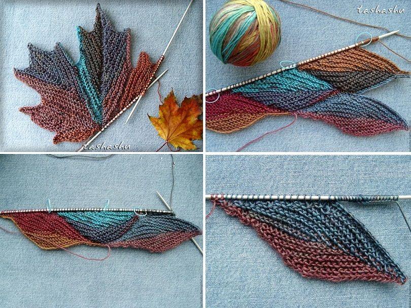Autumn Leaves   Mütze stricken, Tücher und Schals tücher