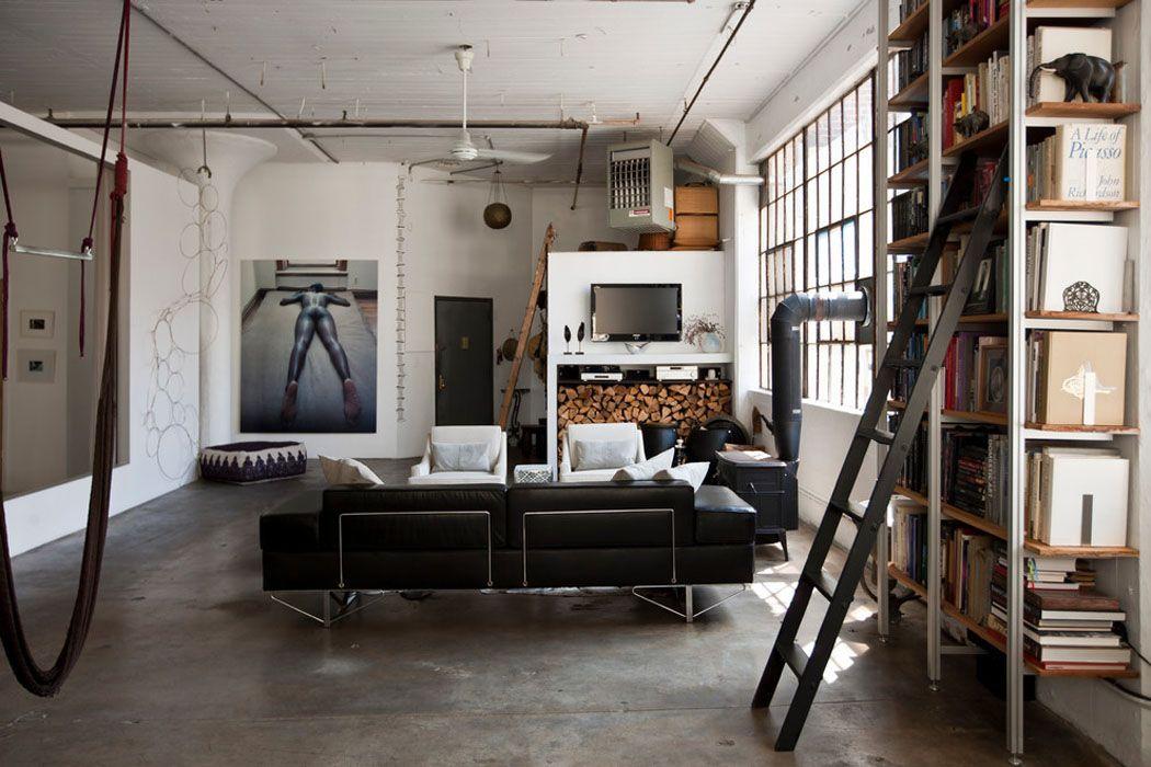Deco Interieur Style Industriel #8: Loft De Ville à New York Au Design Intérieur Inspiré Par Le Style Industriel