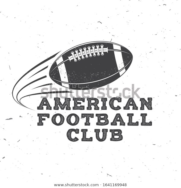 American Football Rugby Club Badge Vector Stock Vector Royalty Free 1641169948 By Sivvector Sivvector American Fo Club Badge Rugby Club American Football