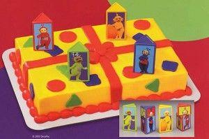 teletubbies cake3 300x199 Teletubbies Cake for Birthday Party