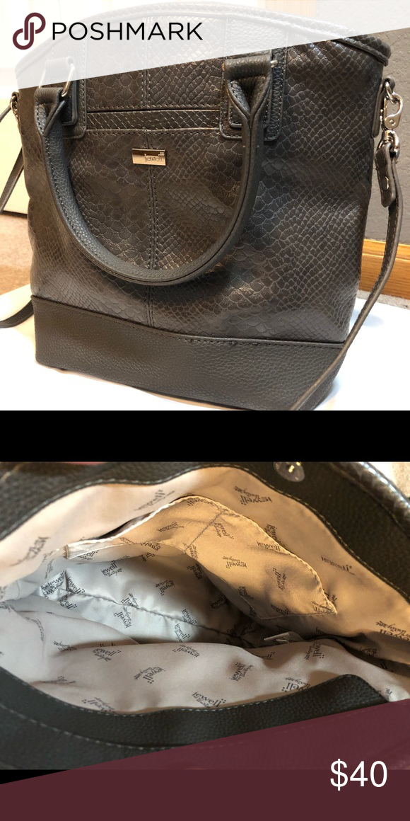 Jewell By Thirty One Purse Gray