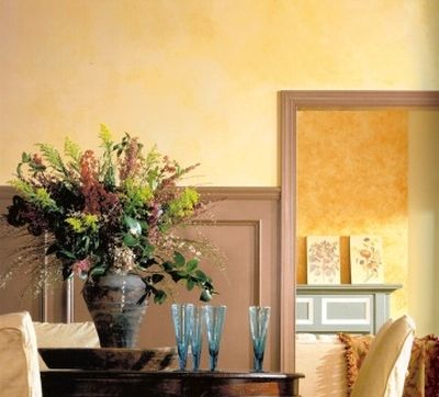 What Paint Color Combinations Are Best For Sponging Techniques Color Combinations Paint Yellow Painted Walls Light Yellow Walls