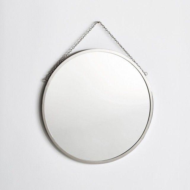 Miroir barbier rond ˜60 cm