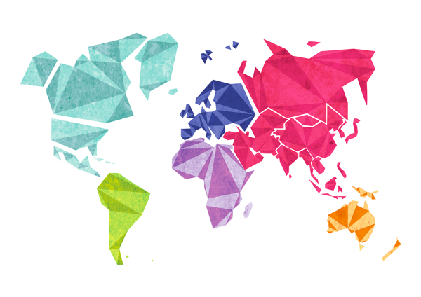 World map low poly illustration by alix thomazi via behance world map low poly illustration by alix thomazi via behance gumiabroncs Image collections