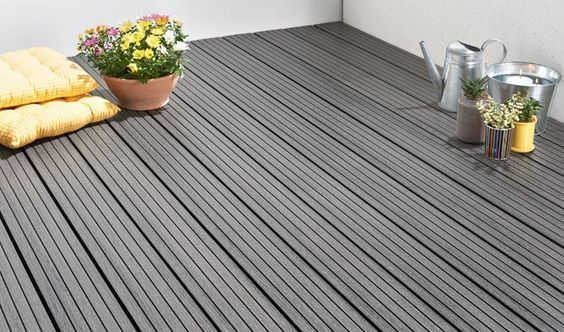 Charmant Patio Wood Plastic Flooring Outside, Wood Plastic Patio Floor In Qatar