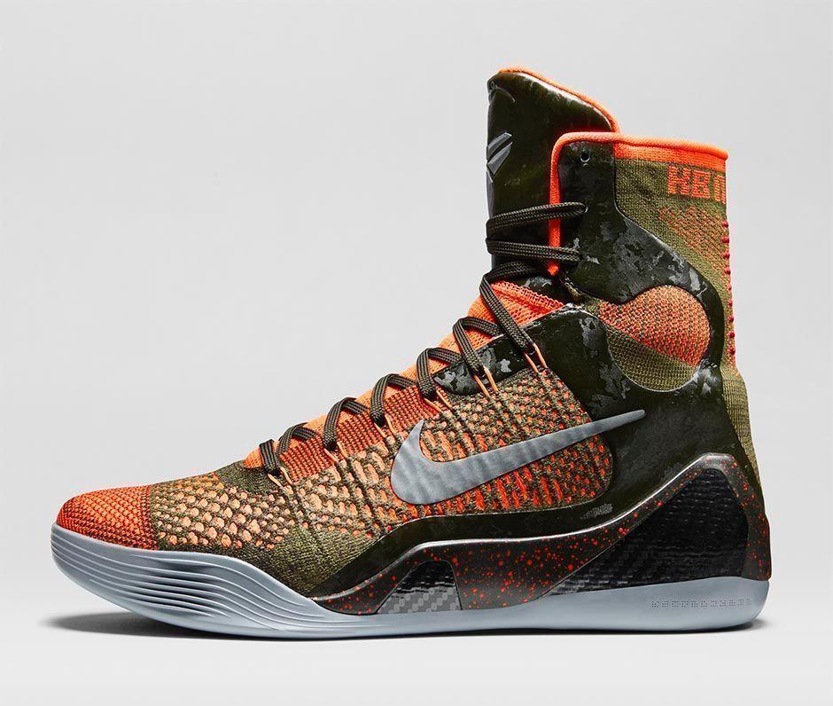 Nike Kobe IX 9 Elite Sequoia Hyper
