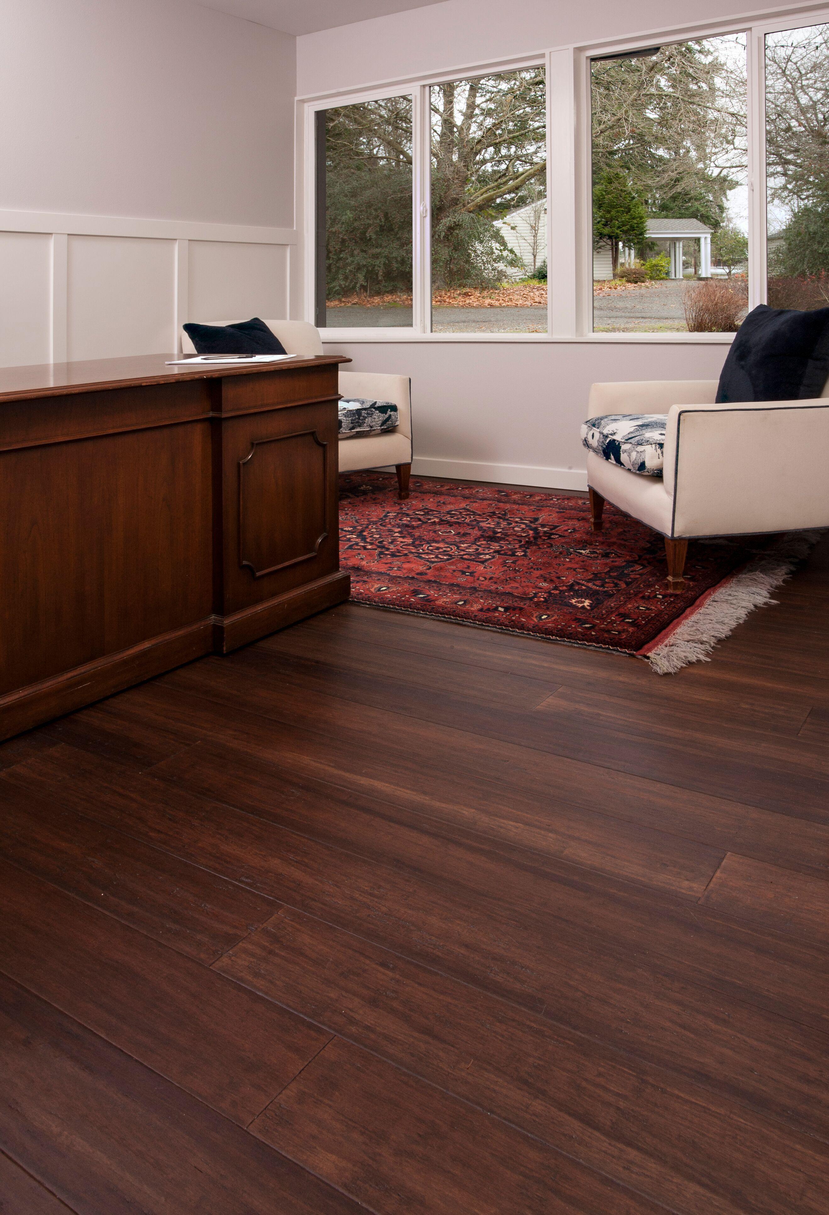 Engineered Strand Trinity Bamboo Warm Brown Color In 2020 Strand Bamboo Flooring Flooring Wide Plank Flooring