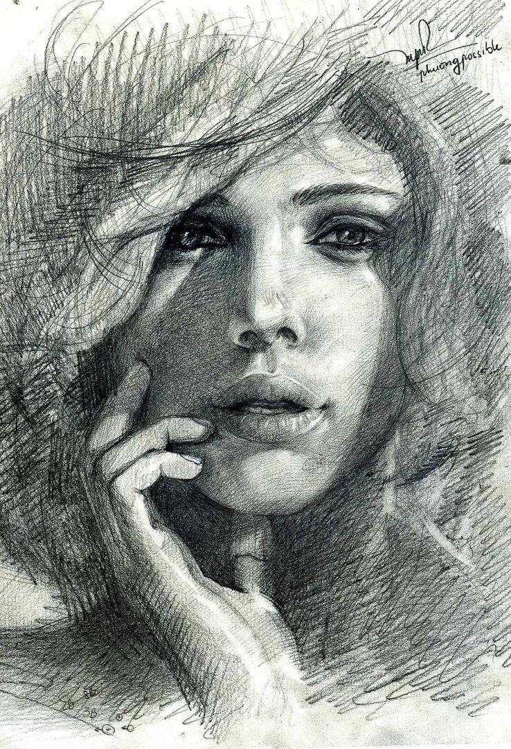 Scarlett Johansson by ~jupiterxo on deviantART #drawing #pencils #Art pls visit us > www.facebook.com/skalapeter7 ♡
