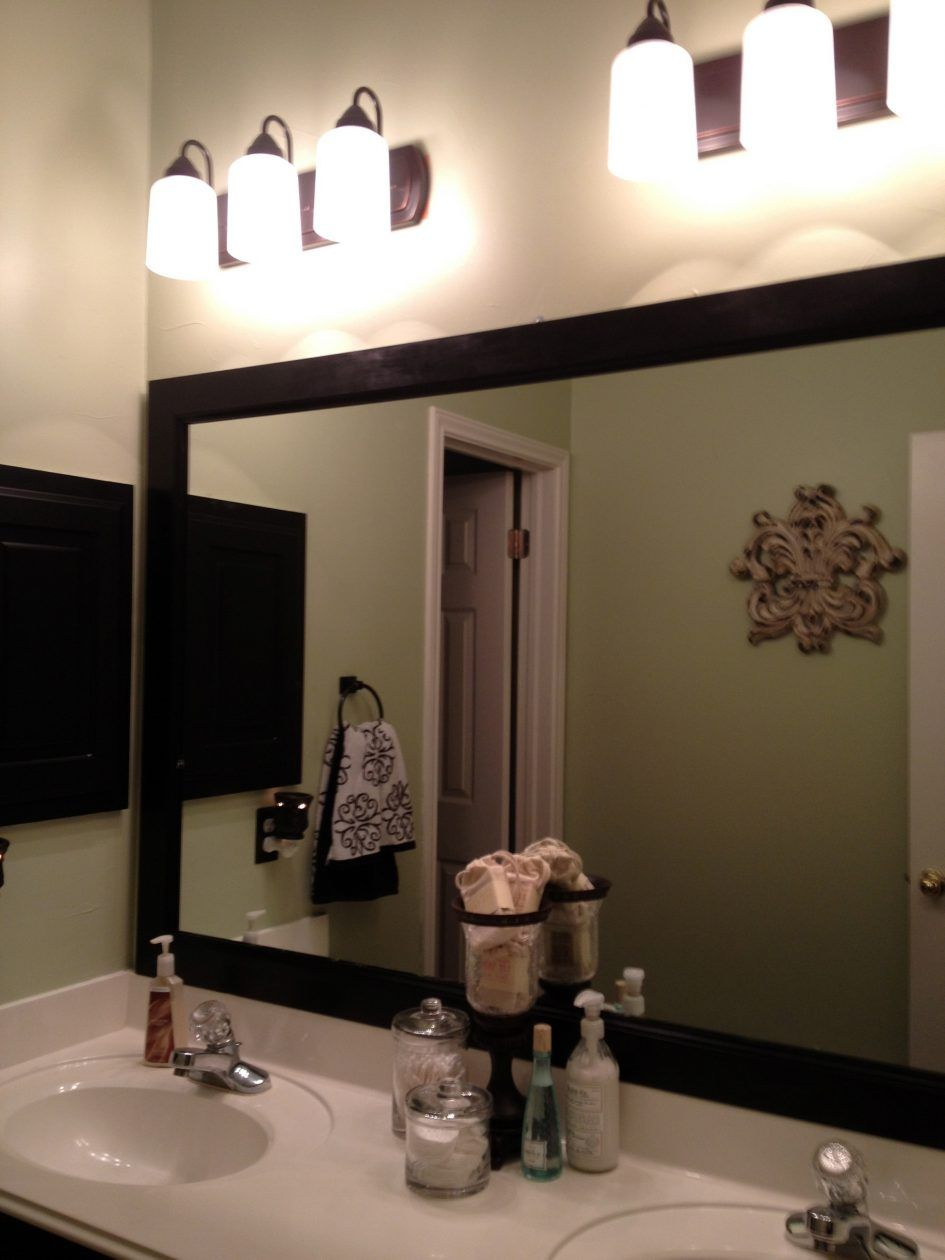 frame creative for bathroom mirrors large mirror highs amazing frames