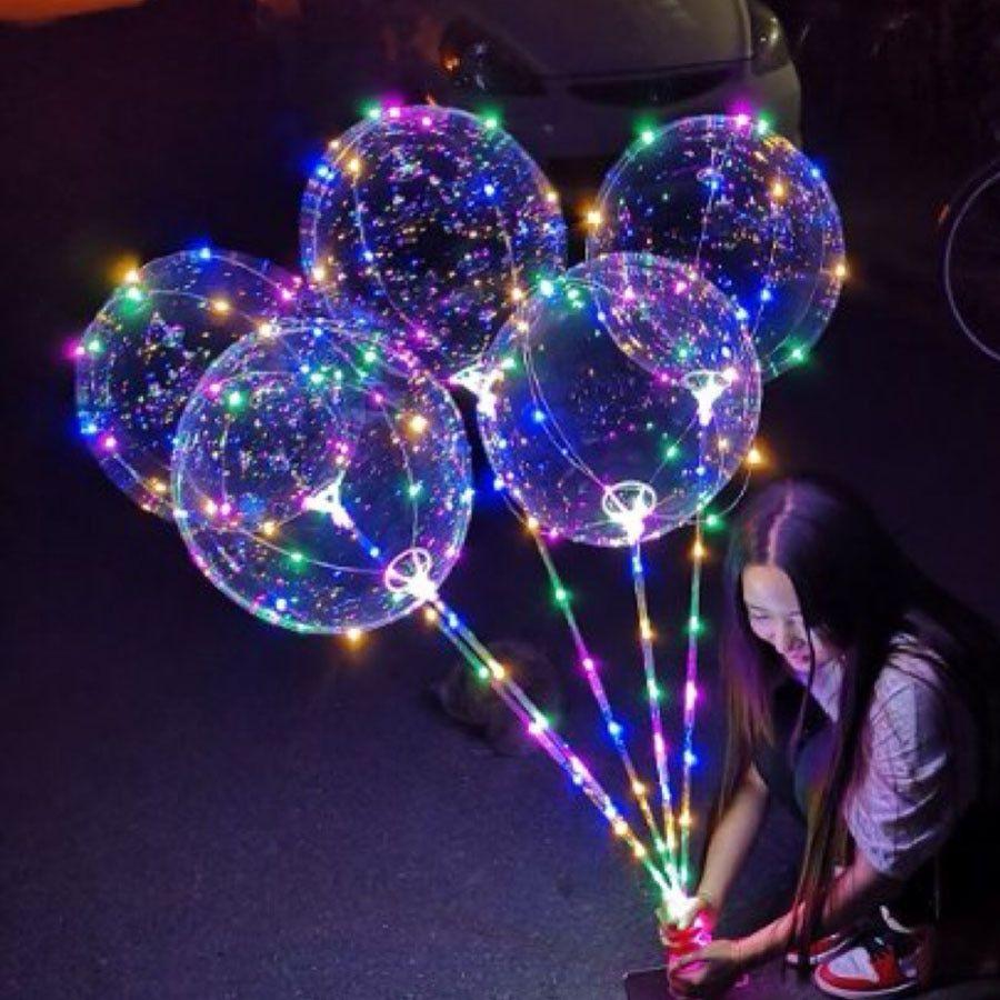 Bubble LED Balloons Luminous PU27