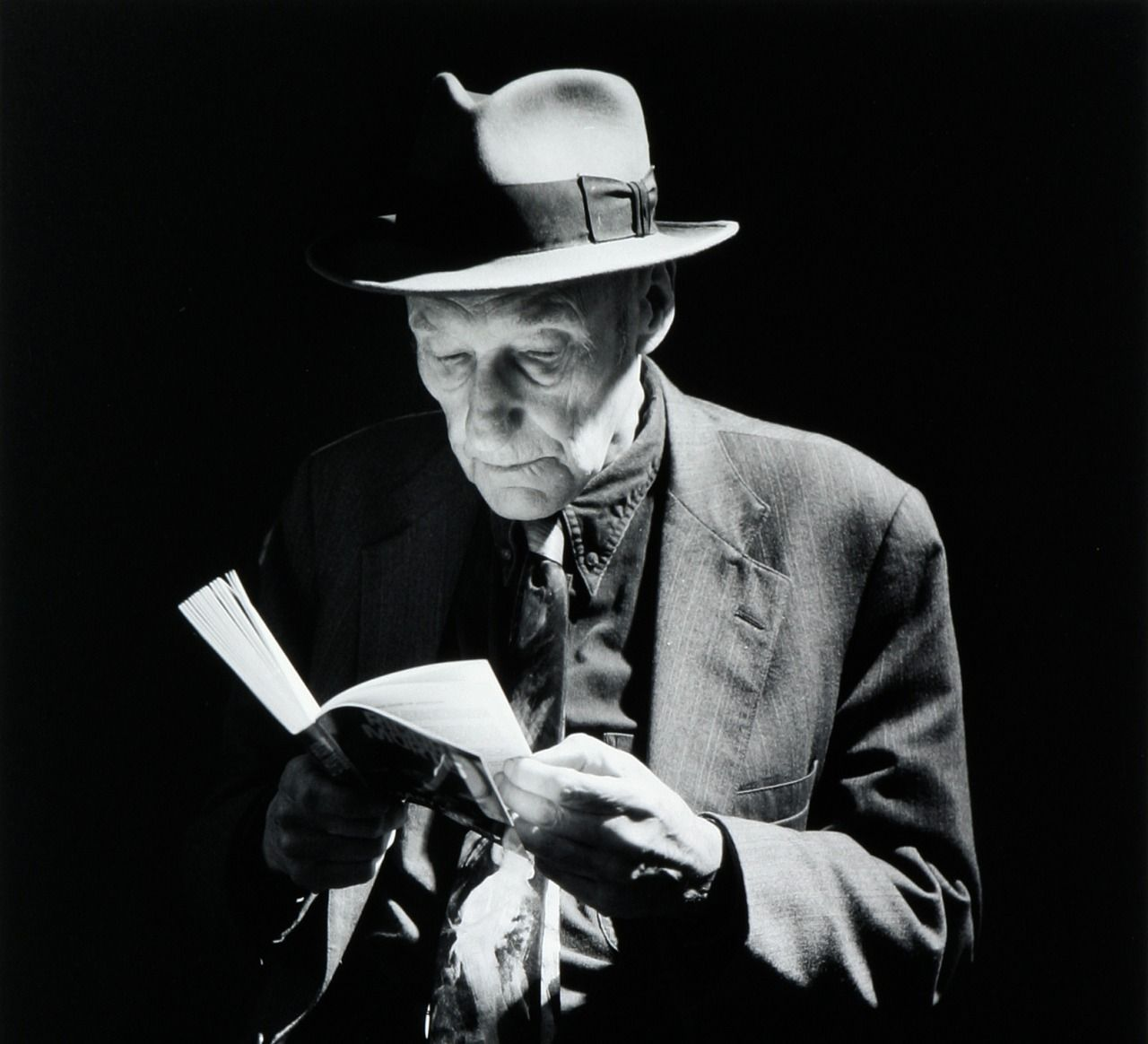 "William S. Burroughs ""If I had my way we'd sleep every night all wrapped around each other like hibernating rattlesnakes."""