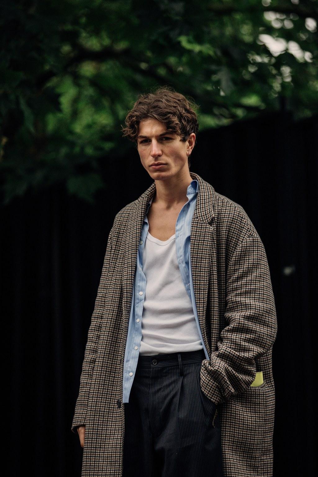 Les meilleurs looks street style de la Fashion Week homme printemps-été 2020 à Londres #mensfashion