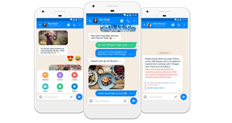 Antispam service Truecaller is now a messaging app too