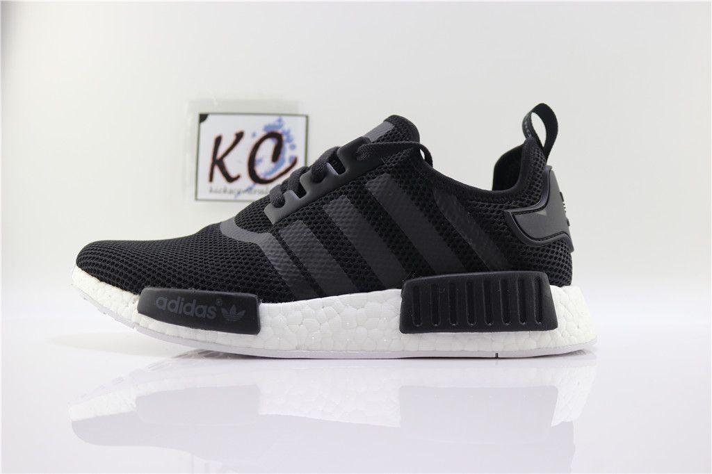 """ea91db81c2307 Adidas NMD R1 """"Black Whte"""" S79165"""