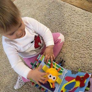 Photo of Baby quiet book 10 pages Montessori fine motor toy toys Primer textil sensorial emplea libro regalo educativo para niños