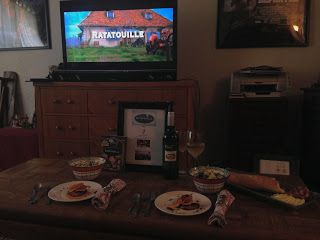 Reel Fancy Dinners: Ratatouille Dinner – Dinner and a Movie Night