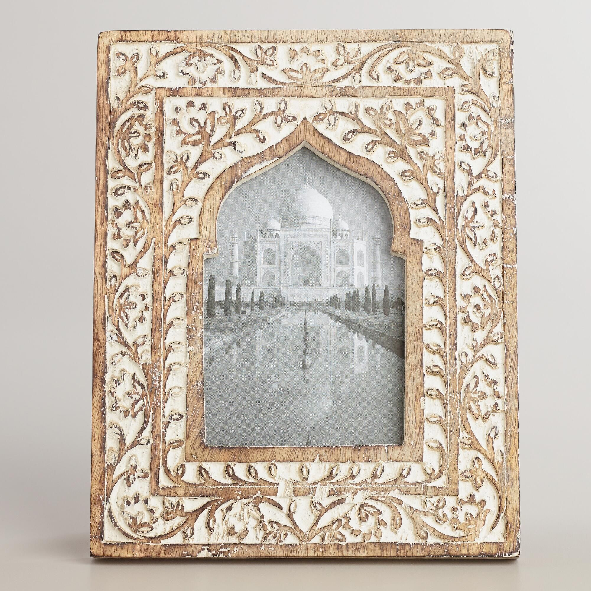 entry - at hinge and box for thermostat and keys: White Wooden Taj ...