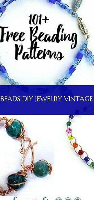 Beads diy jewelry vintage
