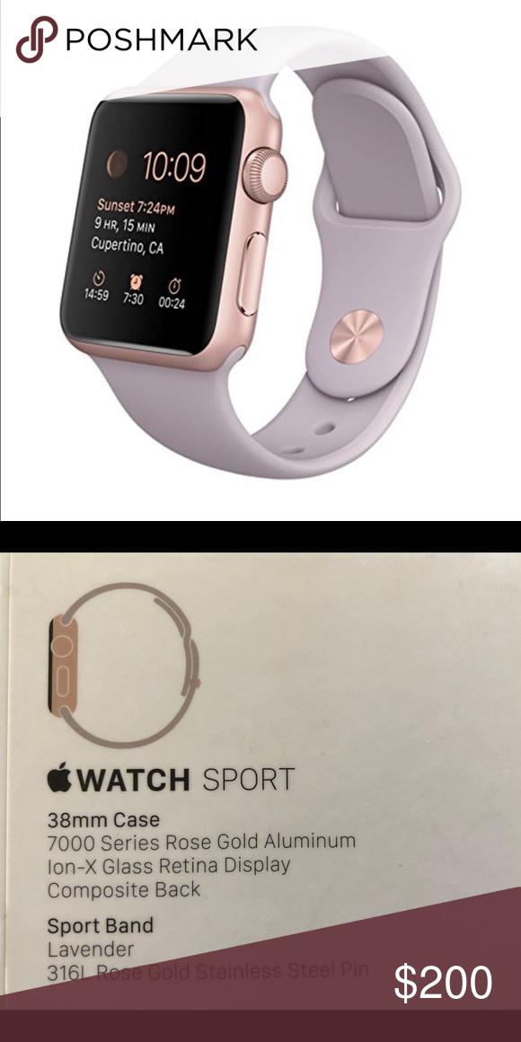 wholesale dealer b3a21 4877d Apple Watch Series 2 Apple Watch Sport 38mm Case, 7000 Series Rose ...